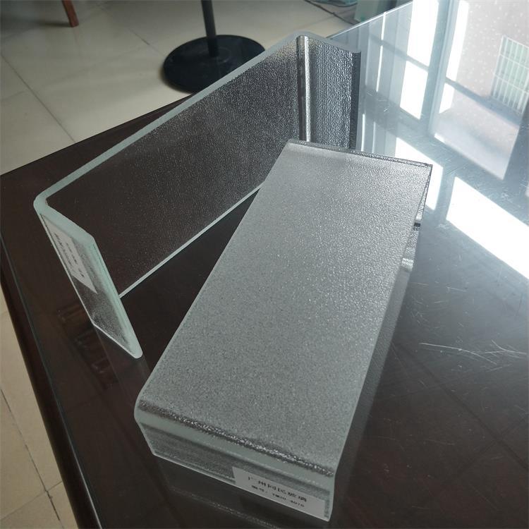 超白磨砂U型玻璃